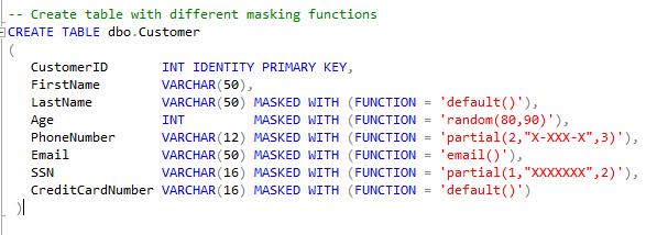 Dynamic Data Masking in SQL Server 2016 – dotnetvibes
