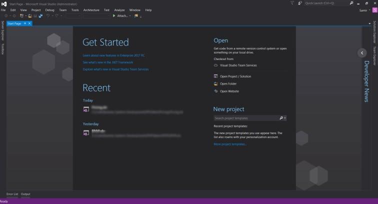 start-page