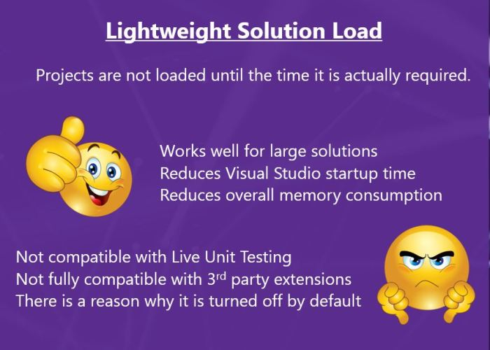 Lightweight Solution Load