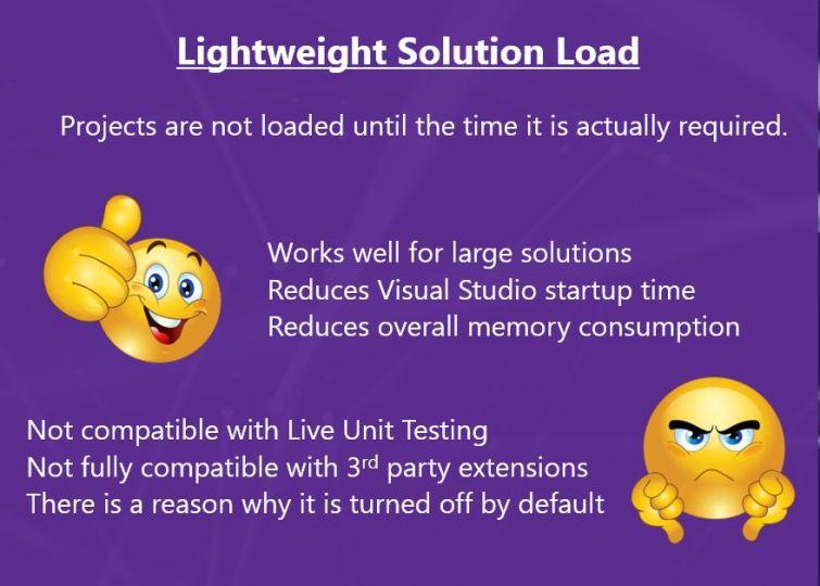 Lightweight Solution Load