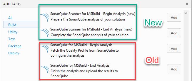 Scanner for MSBuild