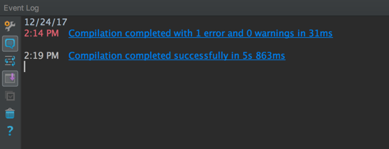 IntelliJ Build Successful