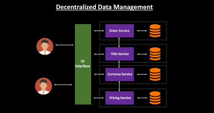Decentralized Data Management