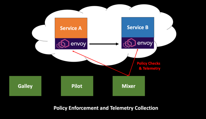 Policy Enforcement and Telemetry Collection