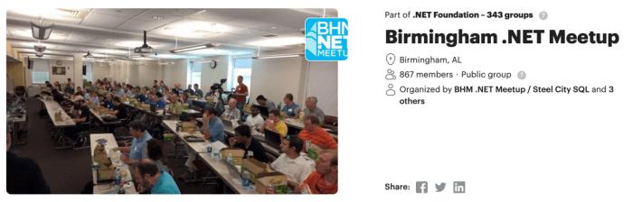 Dotnet User Group January 2020