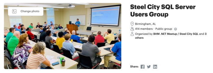 SteelCity User Group Jan 2020